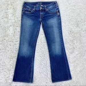 Silver Jeans Pioneer Flare Medium Wash 32 x 32